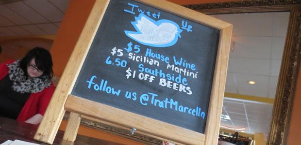 Tweetup/Happy Hour: Trattoria Marcella