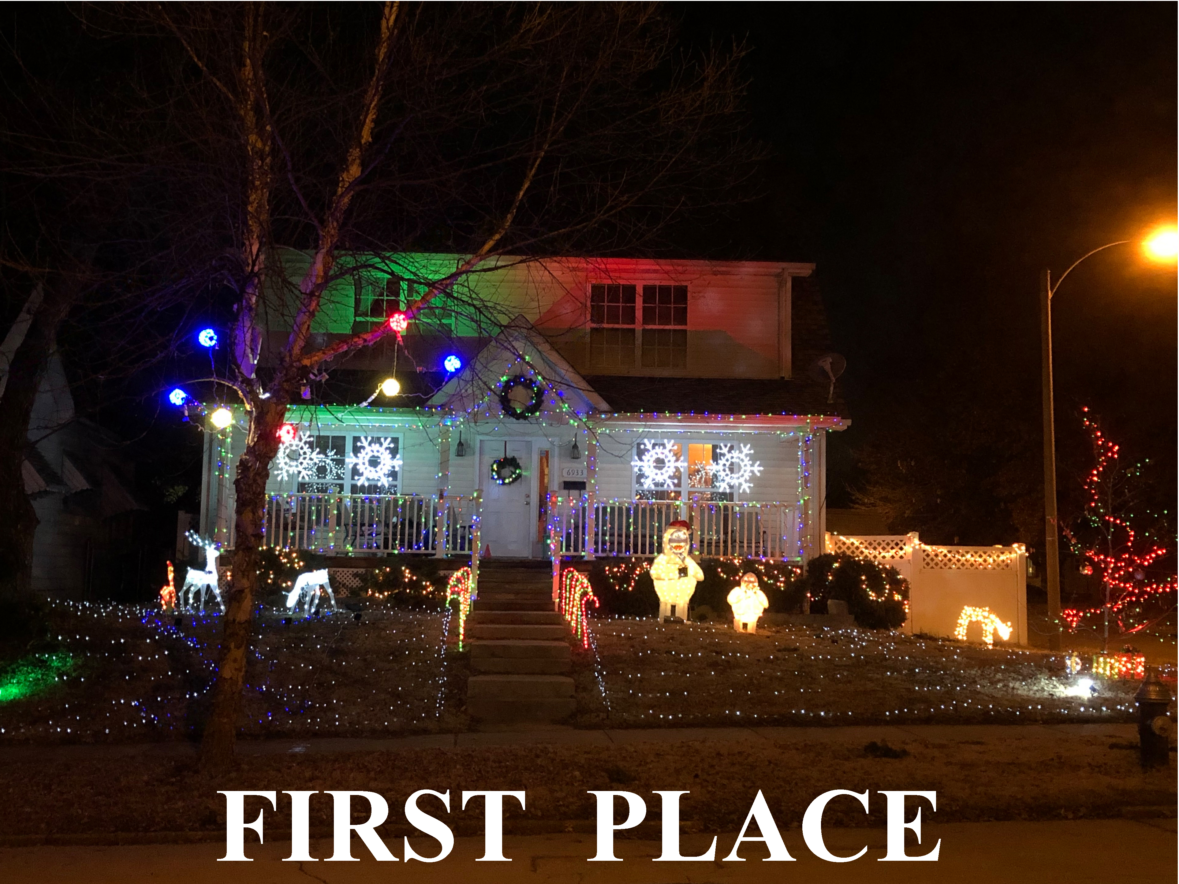 2018 Lindenwood Park Holiday Lighting Contest Winners Announced