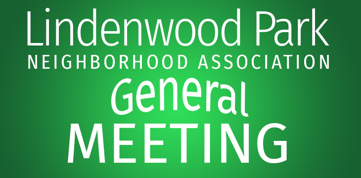 General Membership Meeting: Monday, September 9