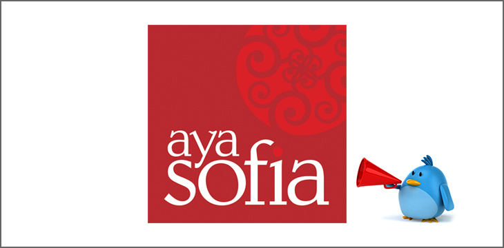 Tweetup: Tuesday, September 24 at Aya Sofia