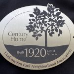 LPNA Century Home Plaque