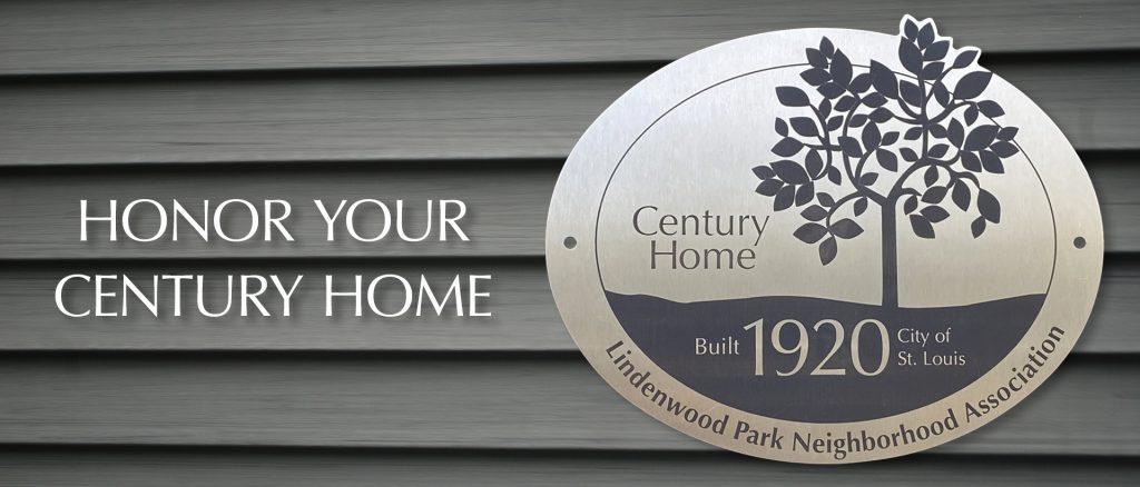 Lindenwood Park Neighborhood Association Century Homes Program