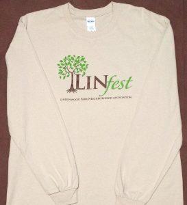 Linfest Long-Sleeve T-Shirt, Sand