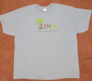 Linfest Short-Sleeve T-Shirt, Stone Blue