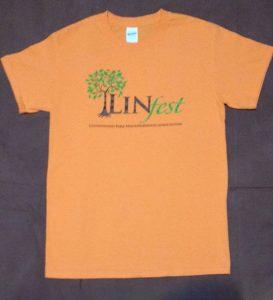Linfest Short-Sleeve T-Shirt, Tangerine